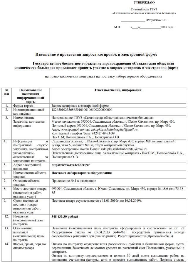 Запрос котировок по 44-ФЗ: пошаговая инструкция для заказчика 2018