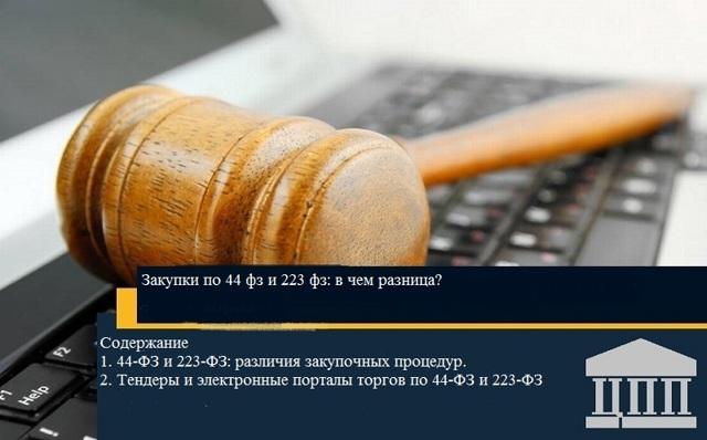 Полезные статьи - закупки и тендеры по 44-ФЗ, 223-ФЗ