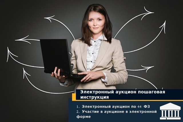 Электронный аукцион по 44-ФЗ: пошаговая инструкция для заказчика 2018