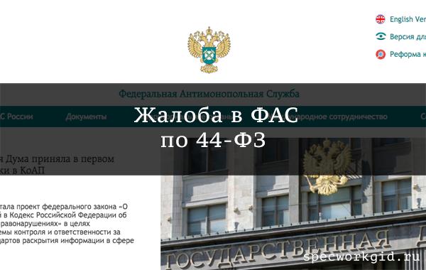 Жалоба в ФАС: сроки подачи и рассмотрения по 44-ФЗ и 223-ФЗ