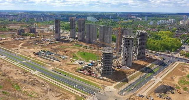 Что уже сейчас происходит на строительстве «Минск-Мир» – несколько фото