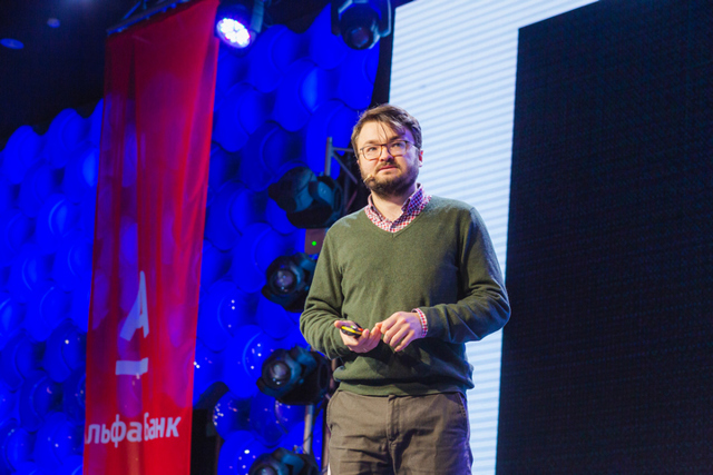 Как бизнесу расти с помощью глобальных платформ — выступление Витаутаса Воробьеваса